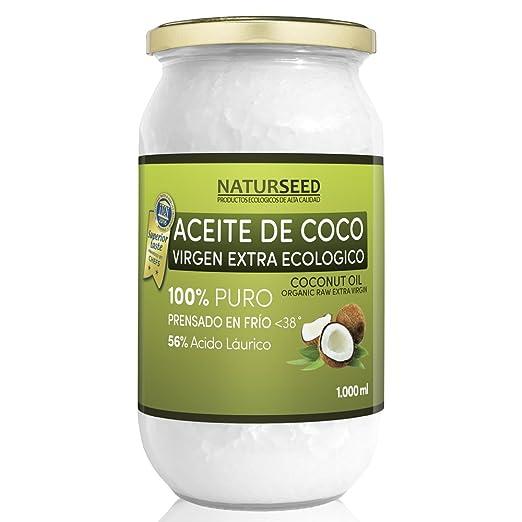 58 opinioni per Naturseed , Olio Di Cocco Extra Vergine da 1000 ml , Cibo biologico, GRATIS