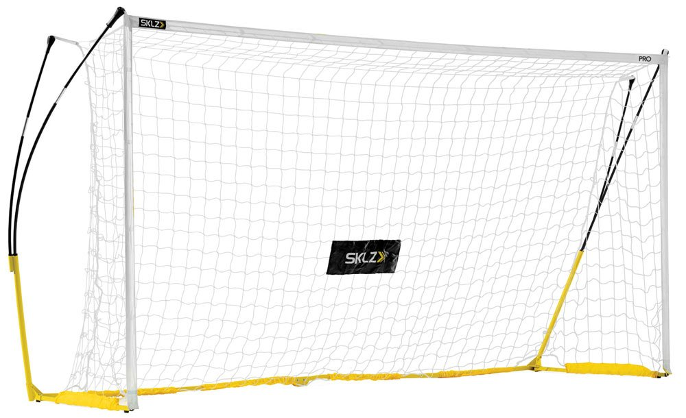 SKLZ Pro Training Futsal Goal. 3M x 2M Ultra Durable and Elite Performance Goal. Designed To Withstand The Most Powerful Shots.