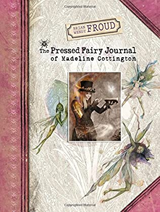book cover of The Pressed Fairy Journal of Madeline Cottington
