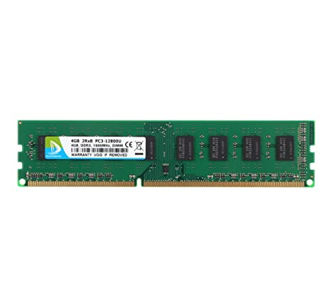 Duomeiqi 4gb Ddr3 1600mhz Udimm 2rx8 Pc3 12800 240pin Cl11 1 5v