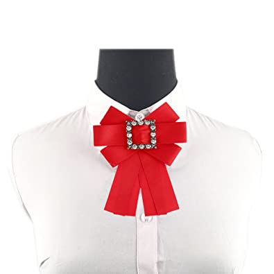 Amazon Se Brooches Pin Bow Tie Pre Tied Neck Tie Shirt Dress