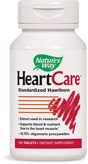 Ayurvedic Medicines For Heart Health: Nature's Way, HeartCare, Hawthorn Extract price