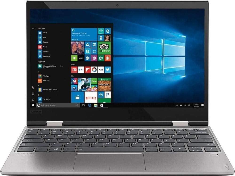 "2018 Lenovo Yoga 720 12.5"" Full HD Touch-Screen Premium Laptop, Intel Core i3-7100u, 4GB DDR4, 128GB SSD, 802.11ac, Bluetooth, Win 10 – Platinum Silver"