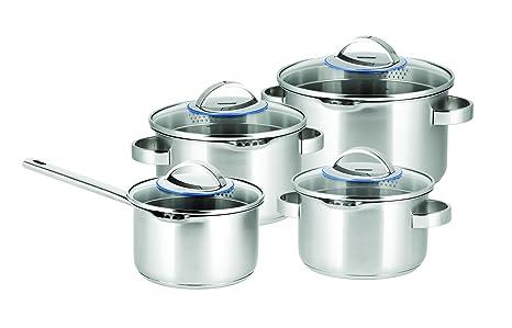 Sola Pearl Set de Cocina, Acero Inoxidable, Acero Inoxidable ...