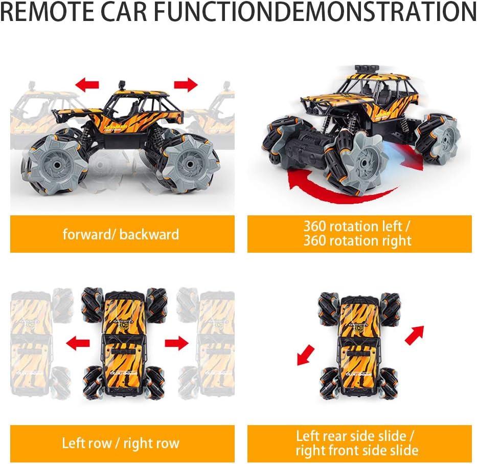 4WD RC Auto Telecomando 360/° Rotazione Acrobatica RC Stunt Car con Luci a LED 2.4GHZ Macchina Radiocomandata per Bambini Giocattoli per 6-12 Anni Bambini Principianti Etmury Macchina Telecomandata