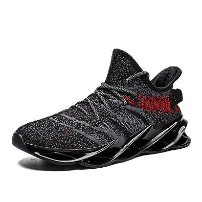 CLEEKING Scarp Running Casual Sneakers Uomo Fitness Casual Moda Casual Scarpe da Corsa Sportive Assorbimento degli Urti