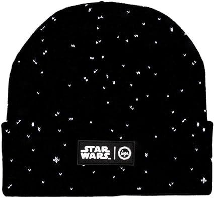 b1ebb489d29 Hype Far Away Star Wars Beanie Hat Black  Amazon.co.uk  Clothing
