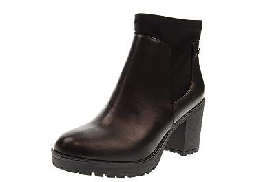 XTI Zapatos de Mujer Botines 48610 Negro: Amazon.es: Zapatos y complementos