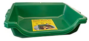 Argee RG155-2 Table-Top Gardener Portable Potting Tray, 2 Pack Green
