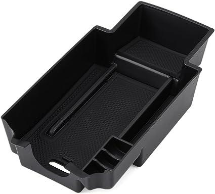 Caja de almacenamiento para coche, soporte para la consola central, accesorio para Benz A Class, B Class, GLA Class, CLA Class, solo compatible con vehículos con el volante a la izquierda: Amazon.es: