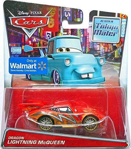 Disney/Pixar Cars Mater's Tall Tales Dragon Lightning McQueen (Tokyo Mater) Die-Cast Vehicle (Lightning Mcqueen And Mater Best Friends)