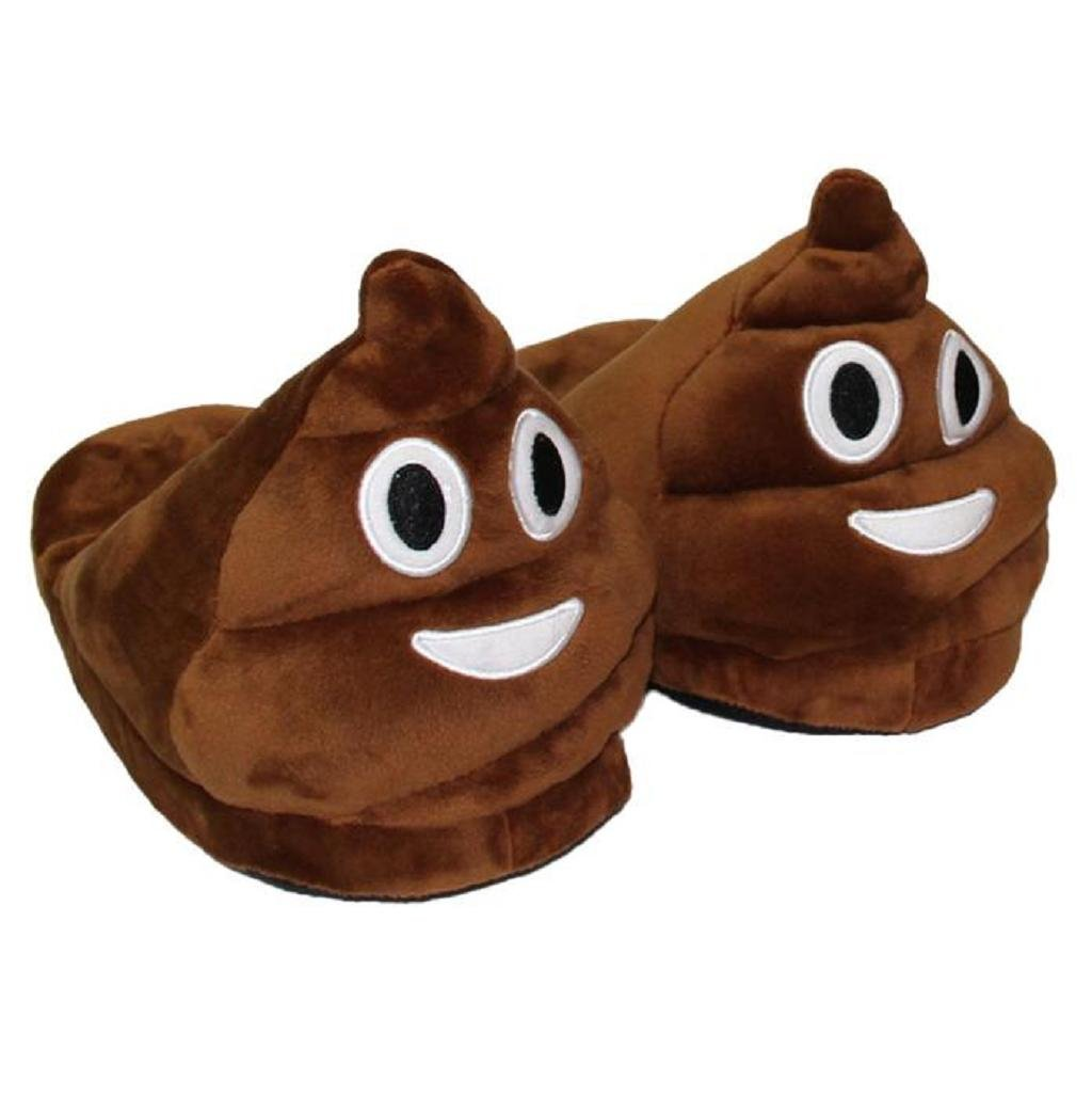 Sannysis® Emoji Emoticon Zapatillas Cómodo Térmica Vellocino Invierno Casa Zapatos...