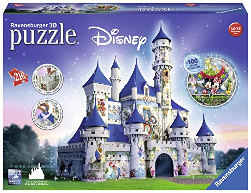 Disney Castle, 216 Piece 3D Jigsaw Puzzle (Ravensburger)