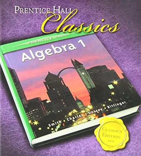 prentice hall classics algebra 1 - 2