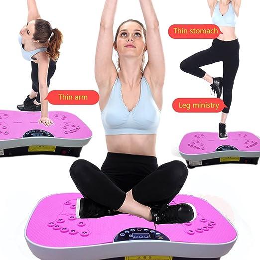 RanBow cuerpo vibración plataforma pérdida de peso-fitness placa de ...