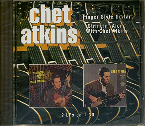 Finger Style Guitar / Stringin Along by Atkins, Chet