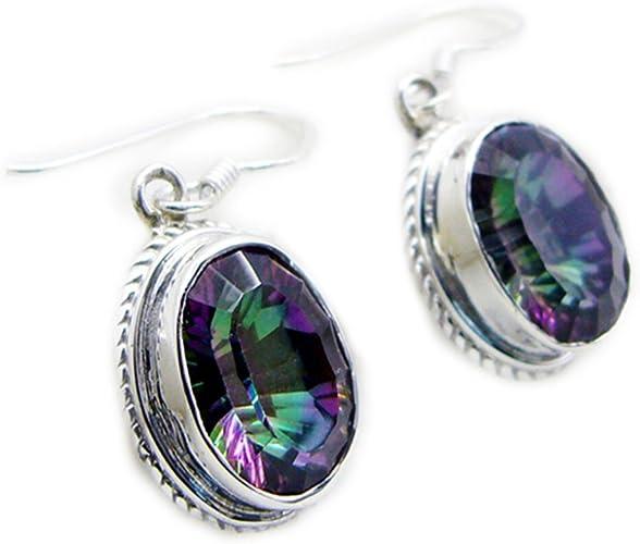 Mystic Moons Fluorite Earrings