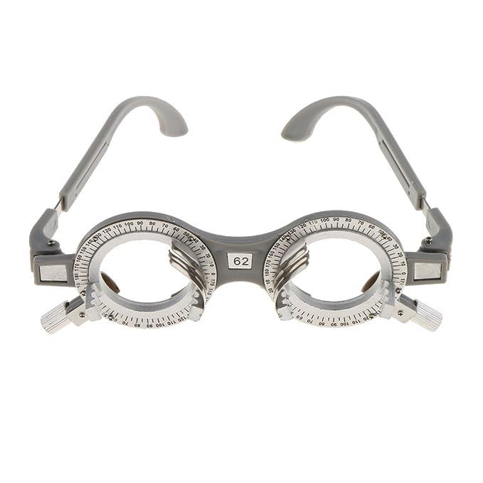 Trial Lens Frame Kunststoff Brillengestell Brillenfassung Optiker Ausrüstung 1ZI4d