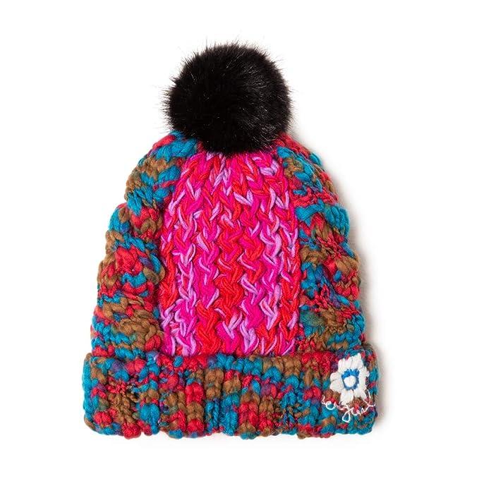 Rosa Helado 3021 Donna Desigual Hat Brilliant Cuffia, Taglia Produttore: U Unica