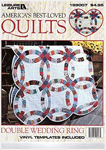 Double Wedding Ring Quilt.America S Best Loved Quilts Double Wedding Ring Quilt With