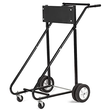 Amazon Com Motor Cart Dolly 315 Lbs Outboard Boat Motor Stand
