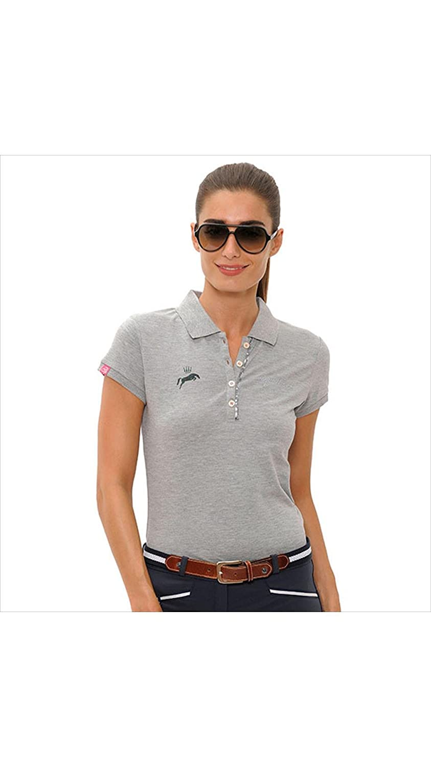Spooks Nicky - Polo para Mujer, Color Gris, Large: Amazon.es ...