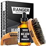 Fragrance Free Beard Oil & Leave In Conditioner, 100% Pure Natural for...