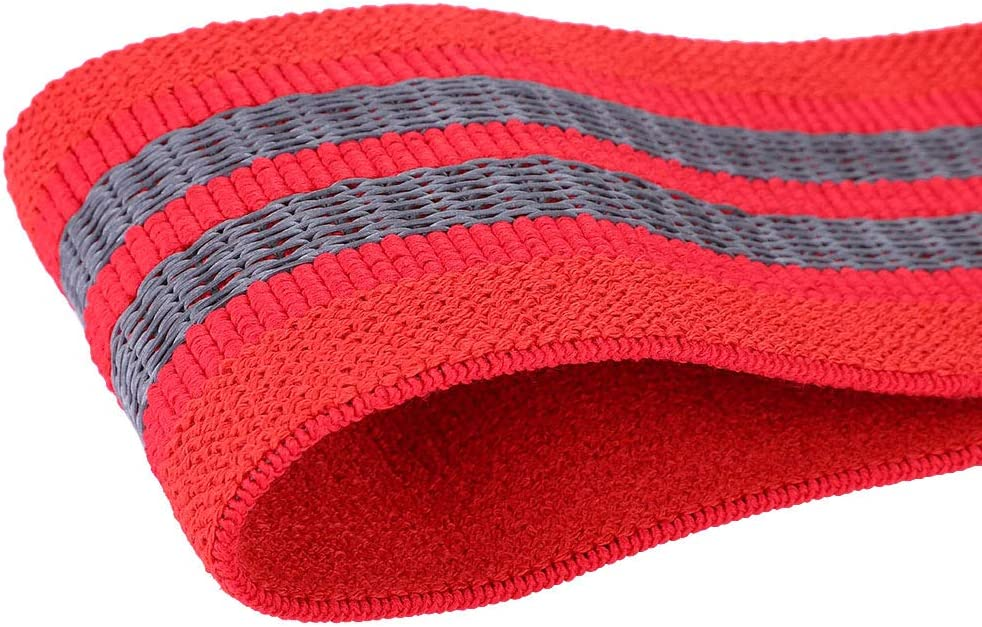 Camidy Resistance Hip Glute Exercise Bands for Training Thighs Legs Fitness for Indoor Activity Red, S