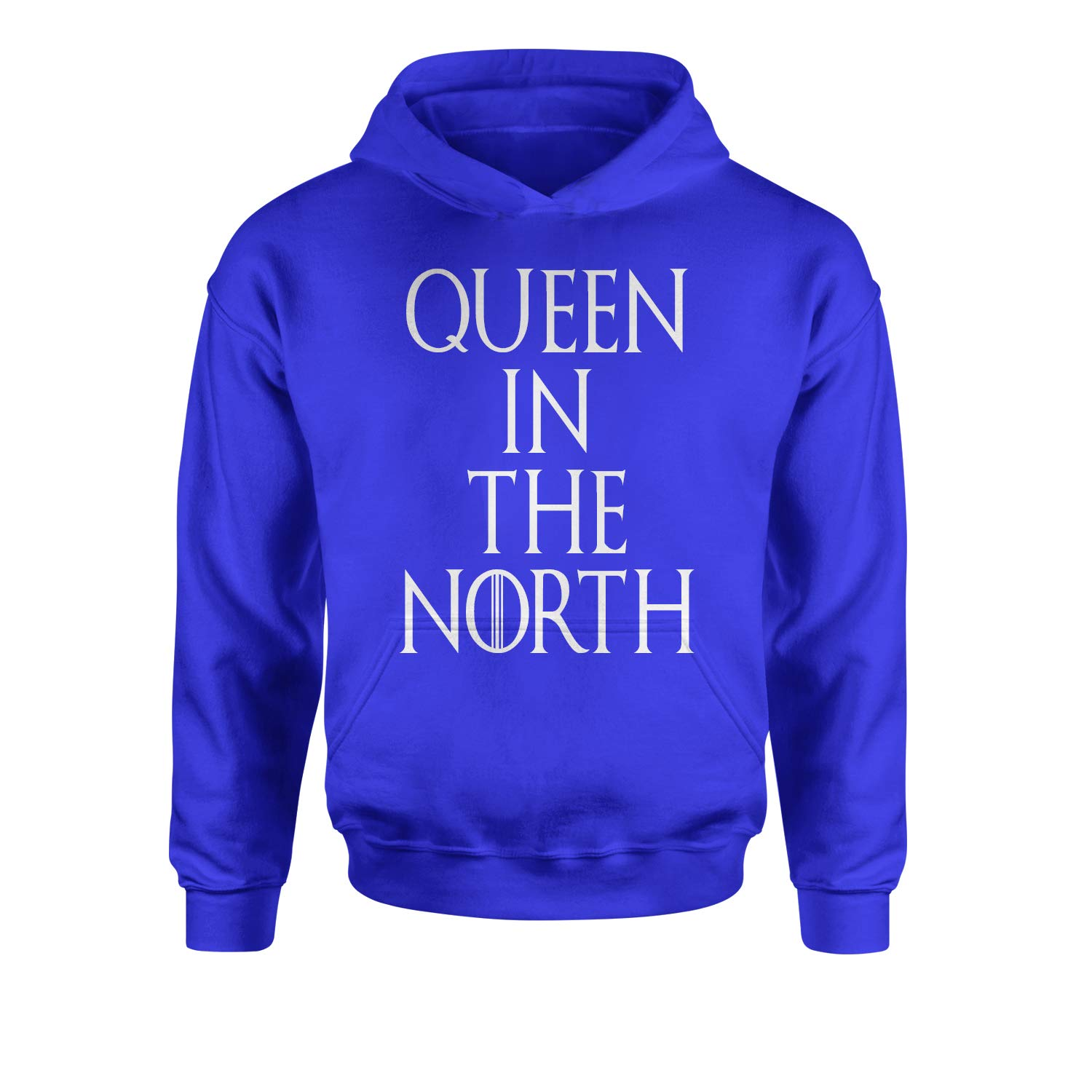 Expression Tees Queen in The North GoT Youth-Sized Hoodie