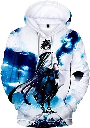 Naruto Cosplay Anime Kapuzen Sweatshirt Kapuzenpulli Hoodie Pullover Pulli Coat