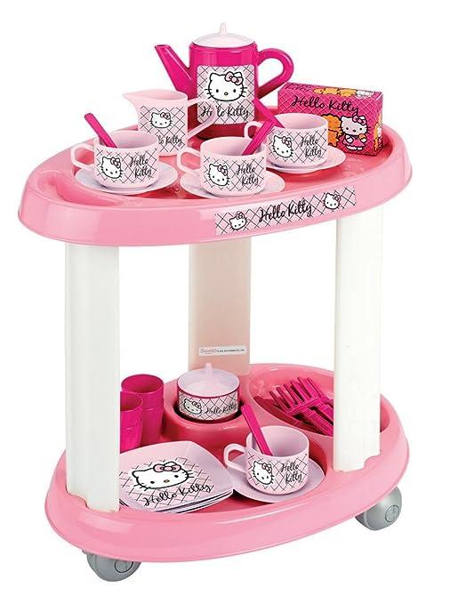 Ecoiffier Hello Kitty 1604 - Carrito Camarera (Smoby)