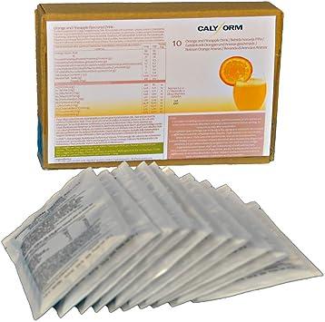 CALYFORM Batidos Proteínas para dieta sabor Naranja y Piña | Bebida proteica en polvo saciante | Proteína dietética de calidad y aporte en aminoácidos ...