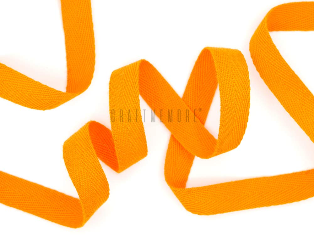 MP123 Dark Khaki CRAFTMEmore 3//4 Inch Twill Tape Fabric Ribbons Webbing Herringbone Twill Bias Binding Tape for Clothes Sewing Craft Trim Lace 36 Yards
