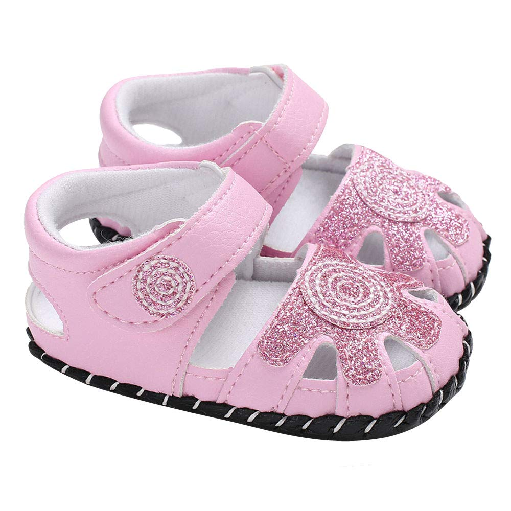 Baby Infant Kids Girl Leather Soft Sole Crib Toddler Newborn Shoes
