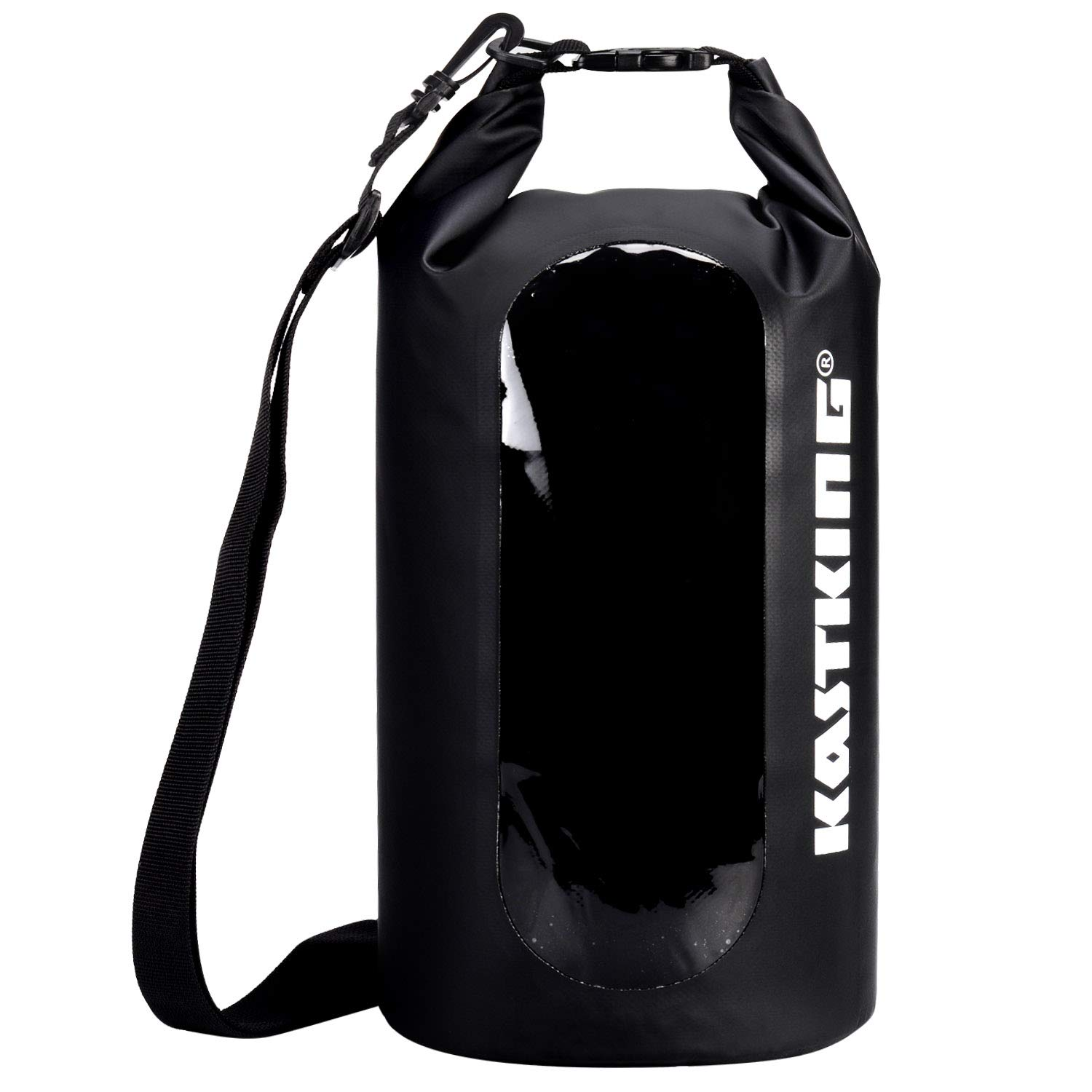 KastKing Floating Waterproof Dry Bag, Black, 10L