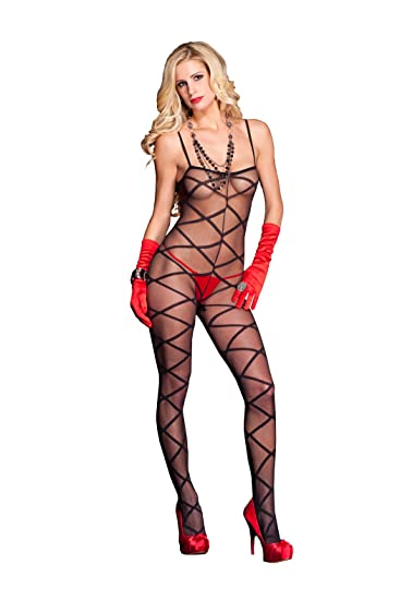 a75e42c8c Amazon.com  MUSIC LEGS Women s Criss Cross Bodystocking