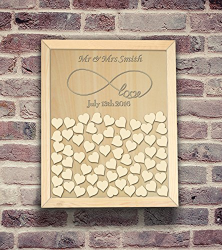 guest book wood - 9