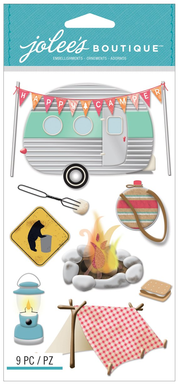 Happy Camper Stickers made our list of DIY Glam Camping Ideas And Tips And Cute Glamping Accessories For Do It Yourself RV And Tent Glamping, Glamping Gifts, Fun Gear And Gifts For Glampers, Awesome Decor, Furniture, Lights, Decorations, Camping Hacks And Products To Add To Your DIY Glamping Kit