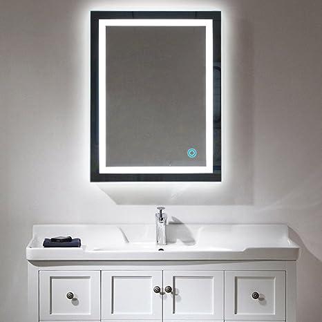 Badspiegel Led Beleuchtung Wandspiegel Badezimmerspiegel Mit