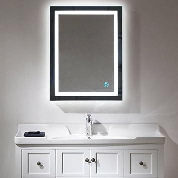 Fabulous Badspiegel LED Beleuchtung Wandspiegel Badezimmerspiegel mit DU65