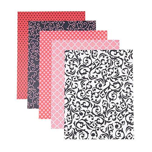 - Darice 30020601 Ooh La Prints Patterned Cardstock