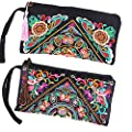 ETOSELL Lady Handbag Purse Handmade Nation Retro Embroidered Bag Wallets