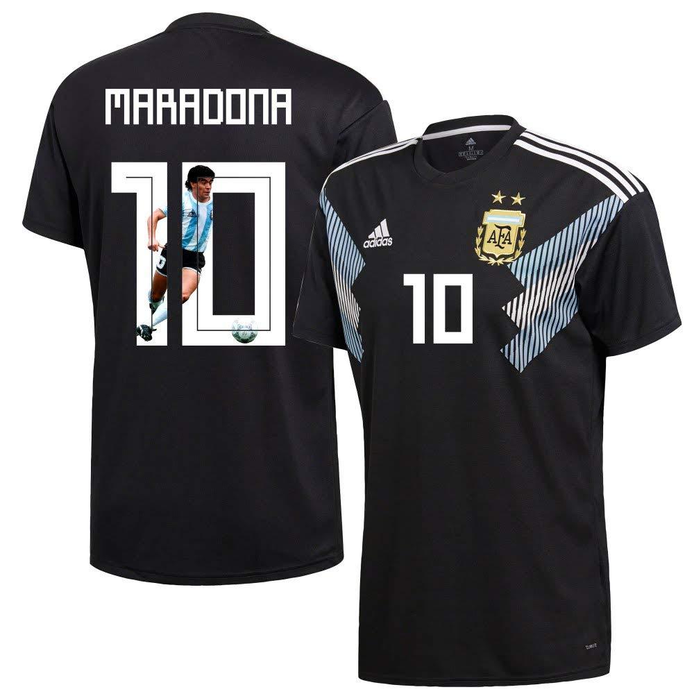 Argentinien Away Trikot 2018 2019 + Maradona 10 (Gallery Style)