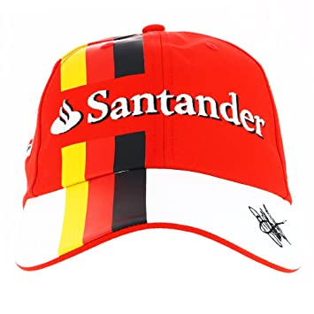 racing replica sf puma baseball cap red official ferrari f1 scuderia leather
