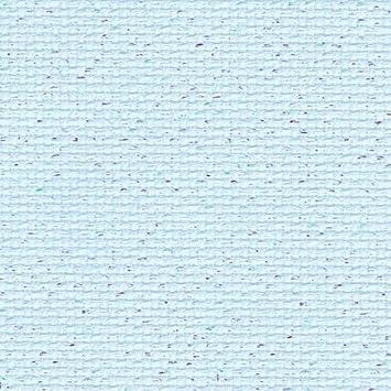 Azul Aida//Pearl Flecked cielo con purpurina tela Aida de 14 55cm x 50cm