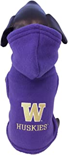 product image for NCAA Washington Huskies Polar Fleece Hooded Dog Jacket
