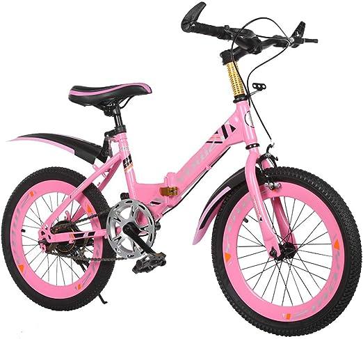 Bicicleta para niños 18/20 Pulgadas Bicicleta Plegable para niños ...