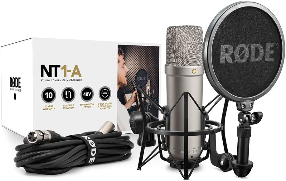 Rode NT1-A-MP Stereo Studio Vocal Cardioid