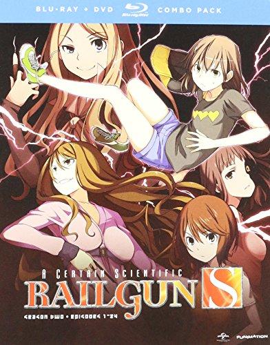 A Certain Scientific Railgun S - Season Two [Blu-ray + DVD]