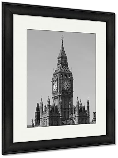 Amazon.com: Ashley Framed Prints Big Ben London England, Wall Art ...